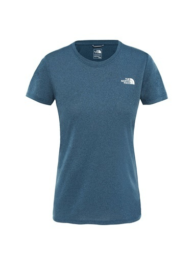 The North Face Reaxion Crew Kadın T-Shirt Mavi Mavi